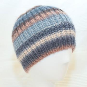 Bonnet ocre pastel