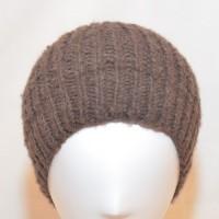 Bonnet en laine de yak (brun)